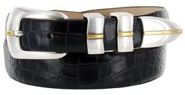Marin Gold Genuine Italian Calfskin Leather Designer Dress Golf Belt for Wome... - $29.20