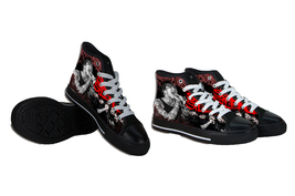 Suicide Silence Canvas Shoes - $64.99