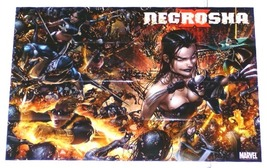 WOLVERINE/X-MEN X-NECROSHA Marvel Promo Poster:Sexy Girl - $40.00