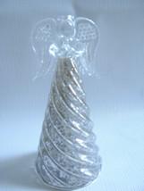 Mercury Glass Angel Ornament Figurine Praying H... - $16.78