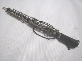 OBOE  Musical Instrument Ornament  Black Silver - $13.81