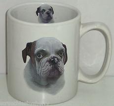 Bulldog Coffee Mug Dog Cup Story on Back - $39.95