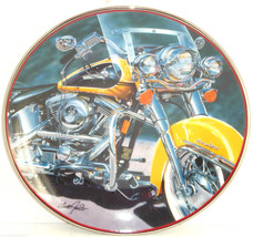 Harley Davidson The Iron Stinger Collector Plate Motorcycle Franklin Mint - $59.95