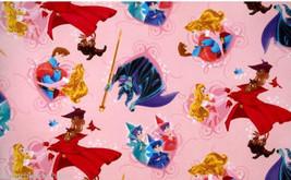 "Disney Sleeping Beauty Fleece Throw Blanket  56""x 68"" Pink Aurora  - $129.95"