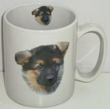 German Shepherd Coffee Mug Dog Cup Story on Back - $39.95