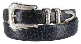 Cesar Silver Genuine Italian Calfskin Leather Designer Dress Belt for Women(A... - $29.69