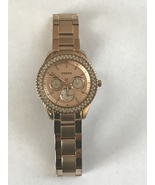 Women's Fossil Rose Gold Tone Watch Needs Battery  - $9.99