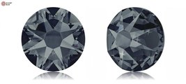 Swarovski XIRIUS Flat Back No-Hotfix (2088) SS34 - GRAPHITE (253) With Platin... - $35.63