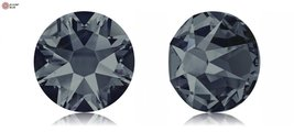 Swarovski XIRIUS Flat Back No-Hotfix (2088) SS34 - GRAPHITE (253) With Platin... - $5.93