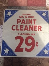 Vintage Store Window Advertisement For Dic A Do... - $13.09