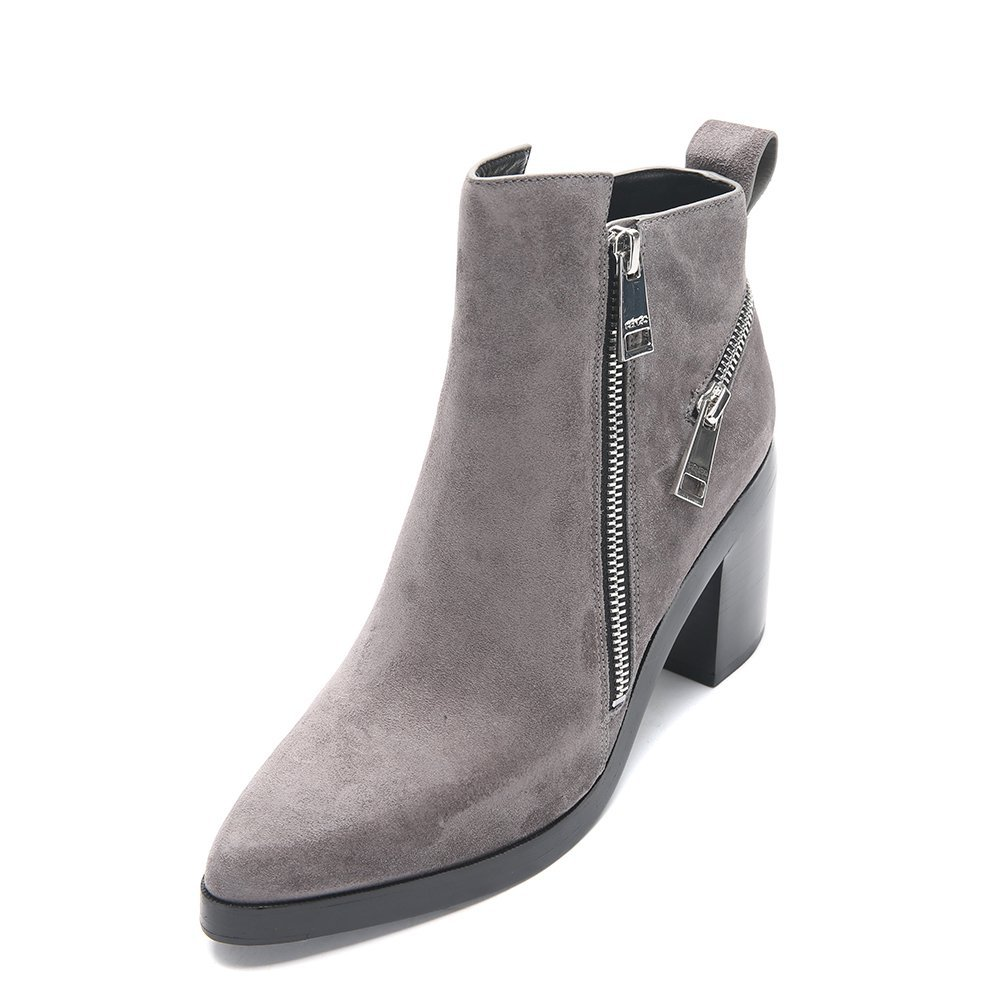 Kenzo Women's Totem Ankle Boots F562BT443L54-95 Dove Grey, EU 37