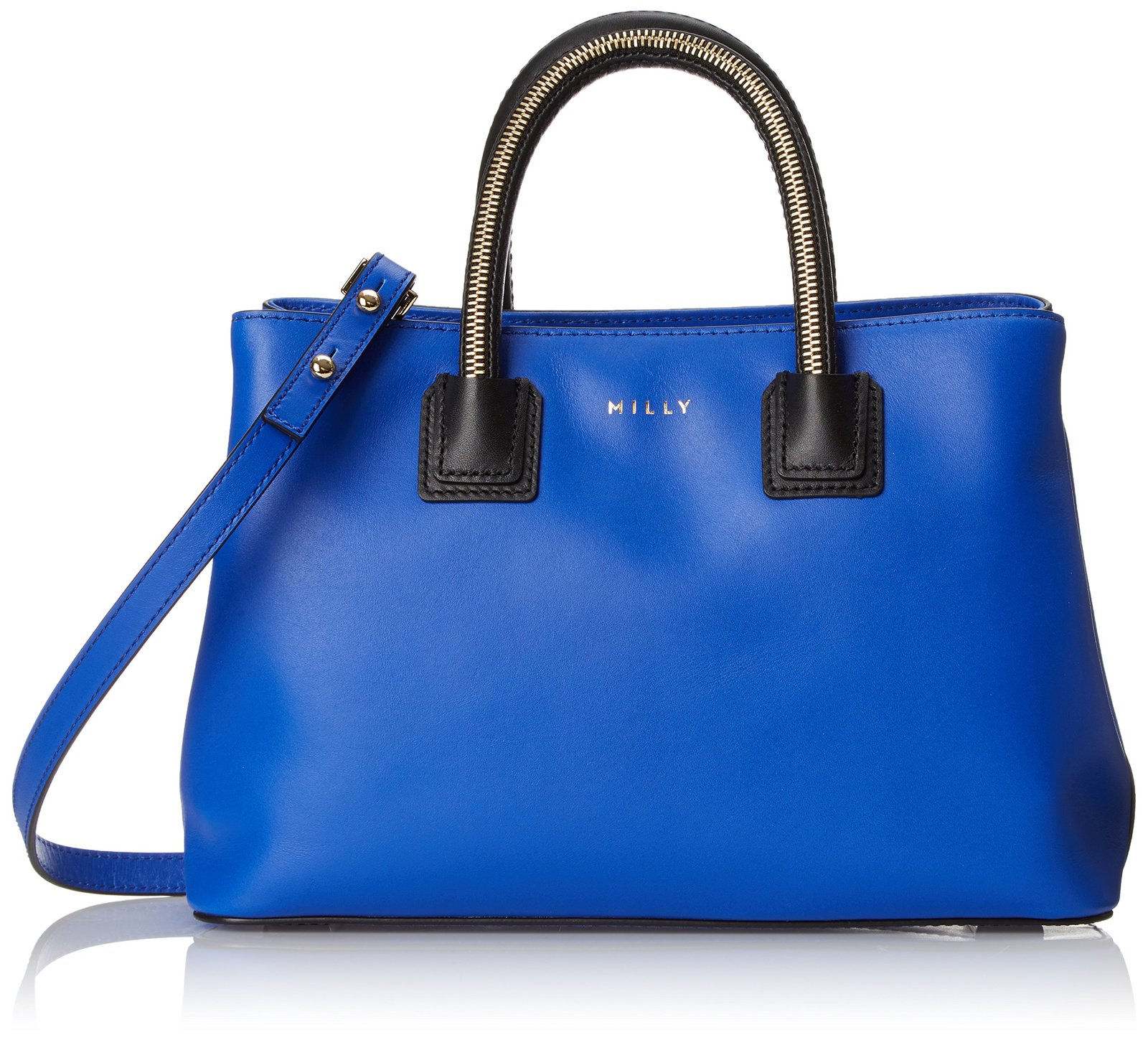 MILLY New Logan Zip Small Tote, French Blue, One Size