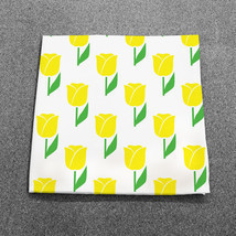 "Spring Tulips Yellow Milliken 18"" x 18"" Napkins... - $34.64"