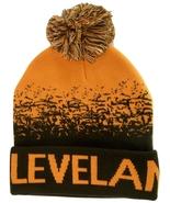 Cleveland Men's Cuffed Digital Fade Soft Winter Knit Beanie Pom Hats Orn... - $11.95
