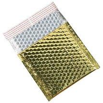Aviditi GBM0706GD Glamour Bubble Mailer 634 Length x 7 Width Gold Case o... - $107.65