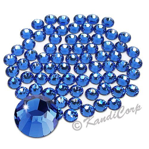 Primary image for Swarovski - SS16 (4mm) Sapphire Crystal - Flatback - 144 pcs. (1 Gross) (Non-...