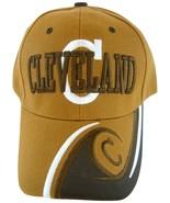 Cleveland Men's Adjustable C Wave Style Curved Brim Baseball Cap Hat Dk ... - $9.95