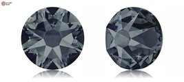 Swarovski XIRIUS Flat Back No-Hotfix (2088) SS20 - GRAPHITE (253) With Platin... - $73.25
