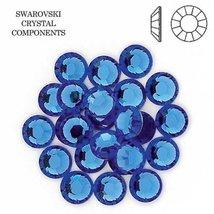 Sapphire Swarovski Rhinestones FlatBack ss20 (72) - $9.83
