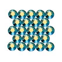 Swarovski Crystal Rhinestone #2028 Flat Back Ss16 50pcs Sapphire Ab - $6.63