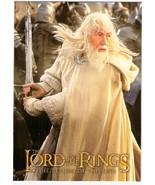 Lord Rings Postcard Return of the King - Gandalf - $1.00