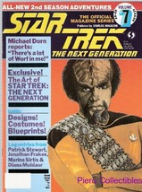 Star Trek: The Next Generation - Vol. 7 - 1989 Magazine - $3.00