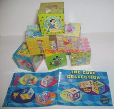 The Cube Collection Tomy 3D Set Disney - $7.00