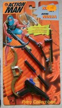 Action Man Accessories Ninja Set Carded Hasbro - $7.00