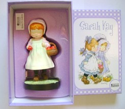 Sarah Kay Collection Resin Statue Girl with Apple De Agostini - $14.00
