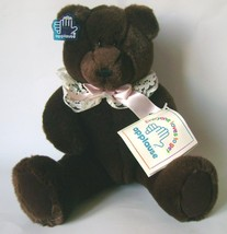 Teddy Bear Plush 32cm Applause 1990 - $15.00