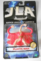 DC JLA Justice League of America Action Figure Plastic Man Hasbro 1999 - $15.00