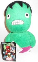 Marvel Round Bottom Series 1 Plush Doll Hulk 18cm - $15.00