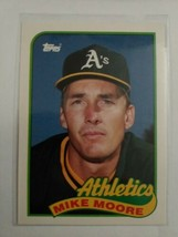 TOPPS 1989 CARD#82T MIKE MOORE - $0.99