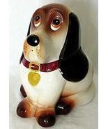 "Metlox Beagle Hound Dog Cookie Jar Ceramic 10"" Rare California Vintage  - $148.49"