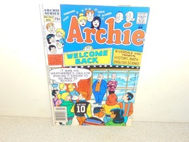 VINTAGE COMIC-ARCHIE COMICS-ARCHIE WELCOME BACK- # 362 NOV. 1988- - GOOD... - $3.91
