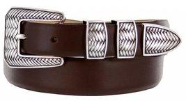 Monte Verde Italian Calfskin Leather Designer Dress Belts for Men(34, Smooth ... - $29.20