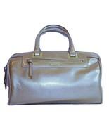 Nine West Satchel Handbag Gold Tone Trim cross-... - $23.12