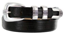 Norris Italian Calfskin Leather Designer Dress Golf Belt for Men (34, Lizard ... - $29.20