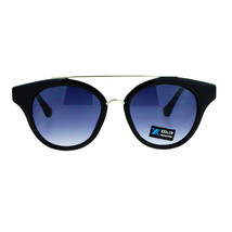 Womens Fashion Sunglasses Retro Designer Horn Rim Cateye Top Bar UV400 - $11.95