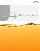 2015 AUDI TDI Clean Diesel Models US brochure catalog A3 A6 A7 A8 L Q5 Q... - $10.00