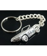Corvette Stingray Key ring chain     Sterling Silver - $66.33