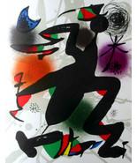 MIRO ORIGINAL LITHOGRAPH IV 4 w/COA. Joan Miró litógrafo invest or gift ... - $196.74