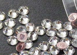 Flat back Crystal 2038 Swarovski Rhinestone Hotfix Round 001 SS30 6mm 72... - $12.62