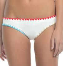 NEW Lucky Brand Night Dreamer Basic Hipster Bikini Bottom White Multi XS... - $11.87