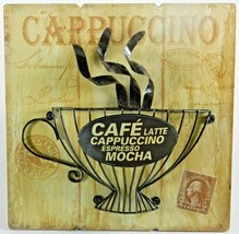 Rustic Postal Cafe Coffee Antique Style Wall Ar... - $21.89
