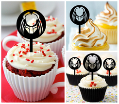 Ca266 Decorations cupcake toppers predator Silhouette Package : 10 pcs - $10.00