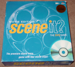 Scene It Dvd Game Movie Edition Game 2004 Screenlife Lightly Played Condition - $15.00