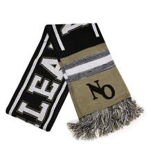 New Orleans City Hunter Adult Size Blending Pattern Winter Knit Scarf Kh... - £11.12 GBP