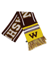Washington City Hunter Adult Size Blending Pattern Winter Knit Scarf Bur... - $12.95