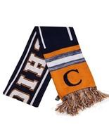 Chicago City Hunter Adult Size Blending Pattern Winter Knit Scarf Orange... - $12.95
